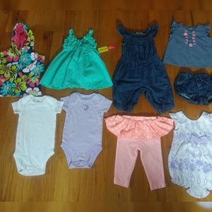 Cute Baby Girl Lot Size 3-6 Months